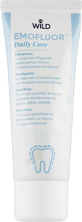 Зубная паста - Dr. Wild Emofluor