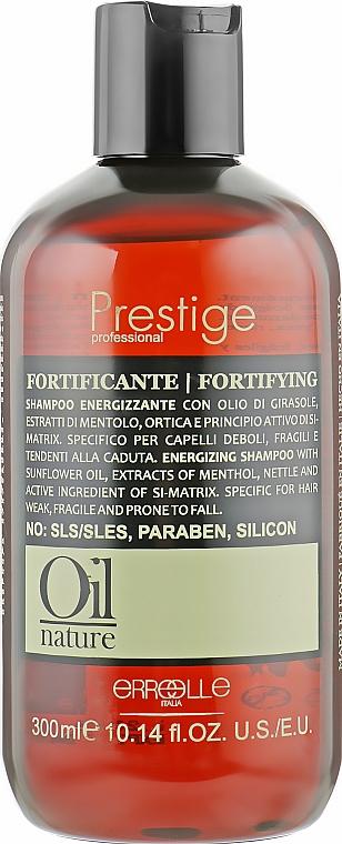 Регенерирующий шампунь против выпадения волос - Erreelle Italia Prestige Oil Nature Fortyfing Shampoo