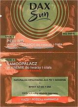 Духи, Парфюмерия, косметика Автозагар с пилингом для лица и тела - Dax Sun Tanning Cream + Soothing Peeling