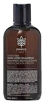 Шампунь восстанавливающий - Organics Cosmetics Hair Loss Shampoo Rivitalizzante