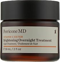 Духи, Парфюмерия, косметика Осветляющий ночной крем - Perricone MD Vitamin C Ester Brightening Overnight Treatment