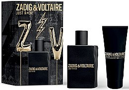 Духи, Парфюмерия, косметика Zadig & Voltaire Just Rock - Набор (edt/50ml + sh/g/100ml)