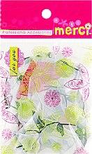 Духи, Парфюмерия, косметика Шапочка для окрашивания, MB2280, зеленые цветы - Merci