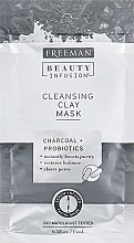 """Духи, Парфюмерия, косметика Глиняная маска для лица """"Уголь и пробиотики"""" в стике - Freeman Beauty Infusion Cleansing Clay Mask"""