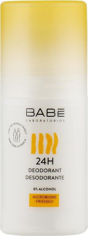 """Дезодорант для всей семьи """"24 часа защиты"""" с пребиотиком - Babe Laboratorios Sensitive Roll-On Deodorant"""