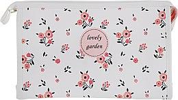"Духи, Парфюмерия, косметика Косметичка, 107, ""Lovely Garden"", белая - Элита"