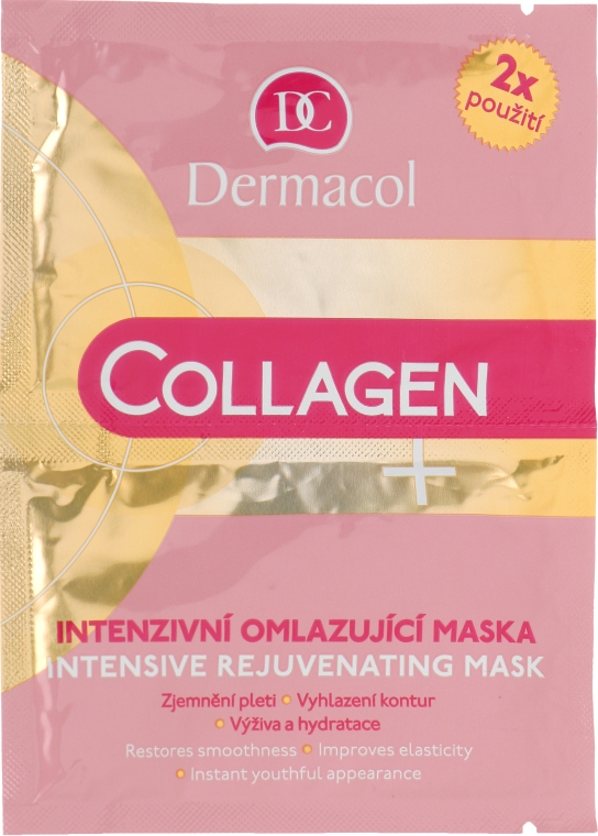 Маска для лица - Dermacol Collagen+ Intensive Rejuvenating Mask