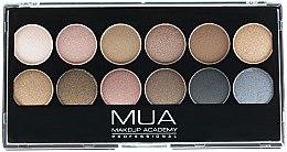 Духи, Парфюмерия, косметика Палетка теней для век - MUA Undressed Eyeshadow Palette