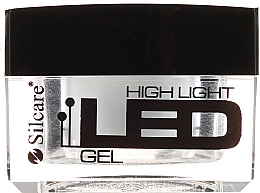 Духи, Парфюмерия, косметика Гель для ногтей, белый - Silcare High Light LED White