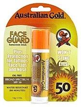 Духи, Парфюмерия, косметика Солнцезащитный карандаш-бальзам для лица - Australian Gold Face Guard SPF 50