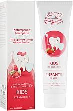 Духи, Парфюмерия, косметика Зубная паста детская со вкусом клубники - Green Beaver Naturapeutic Kids Toothpaste