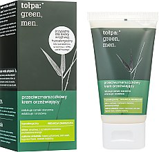 Духи, Парфюмерия, косметика Освежающий антивозрастной крем для лица - Tolpa Anti-Wrinkle Refreshing Cream For Men