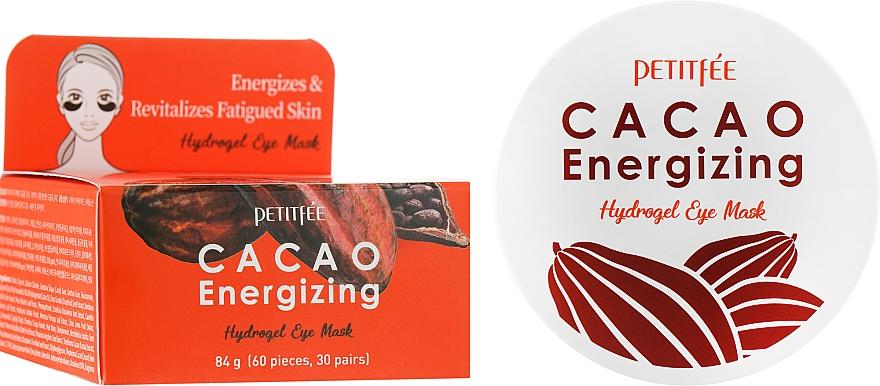 Гидрогелевые тонизирующие патчи для глаз с экстрактом какао - Petitfee&Koelf Cacao Energizing Hydrogel Eye Mask