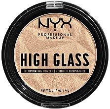 Духи, Парфюмерия, косметика Пудра-хайлайтер для лица - NYX Professional Makeup High Glass Illuminating Powder