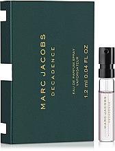 Духи, Парфюмерия, косметика Marc Jacobs Decadence - Парфюмированная вода (пробник)