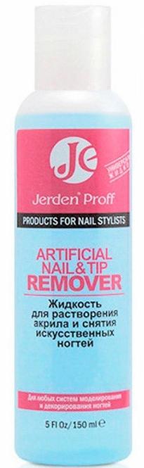 Жидкость для растворения акрила и снятия искусственных ногтей - Jerden Proff Artificial Nail&Tip Remover