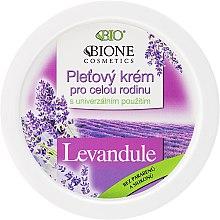 Духи, Парфюмерия, косметика Универсальный семейный крем - Bione Cosmetics Lavender Facial Cream Whole Family