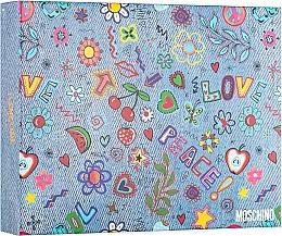 Духи, Парфюмерия, косметика Moschino I Love Love - Набор (edt/50ml + b/lot/100ml + s/gel/100ml)