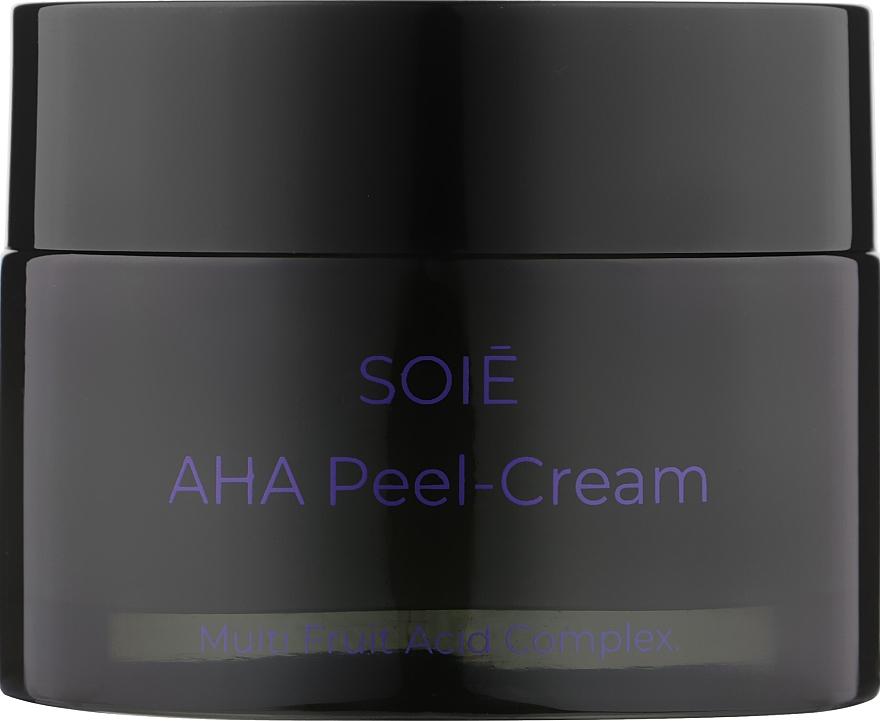 Крем-пилинг с АНА кислотами для лица - Soie AHA Peel-Cream