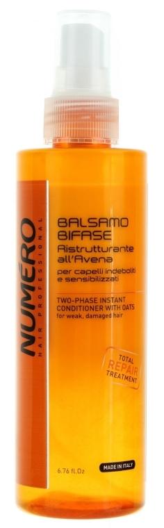 Двухфазный бальзам с экстрактом овса - Brelil Numero Instant Two-phase Oatmeal Hair Conditioner