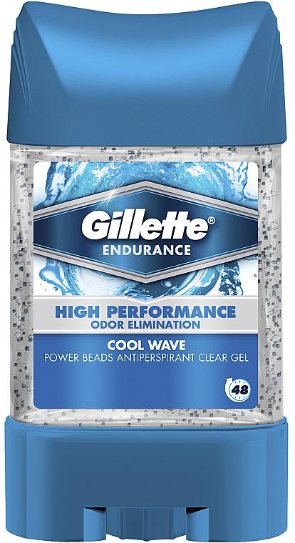 Дезодорант-антиперспирант гелевый - Gillette PowerBeads Cool Wave Anti-Perspirant Gel For Men