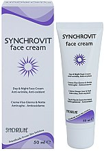 Духи, Парфюмерия, косметика Антивозрастной крем для лица - Synchroline Synchrovit Anti-Wrinkle Face Cream