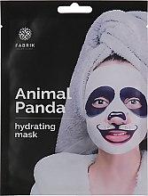 Парфумерія, косметика Тканинна маска для обличчя, зволожувальна з принтом - Fabrik Cosmetology AnimalPanda Hydrating Facial Mask
