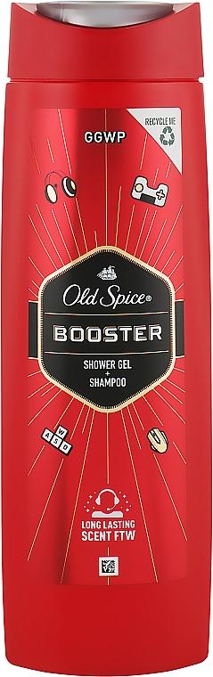 Гель-шампунь для душа - Old Spice Booster Shower Gel + Shampoo