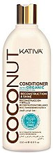 Духи, Парфюмерия, косметика Кондиционер для волос - Kativa Coconut Conditioner