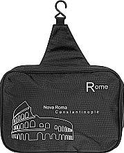 "Косметичка дорожняя ""Rome"", черная - Rapira — фото N2"