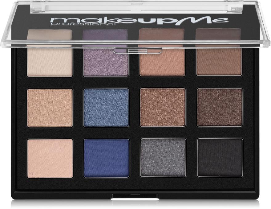 Профессиональная палитра теней 12 цветов, P12-2 - Make Up Me