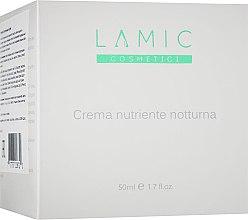 Духи, Парфюмерия, косметика Ночной питательный крем - Lamic Cosmetici Nourishing Night Cream