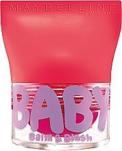 Духи, Парфюмерия, косметика Бальзам для губ и щек - Maybelline New York Baby Lips Balm Blush Ball