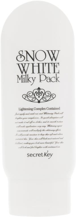 "Отбеливающая маска ""Белоснежка"" - Secret Key Snow White Milky Pack"