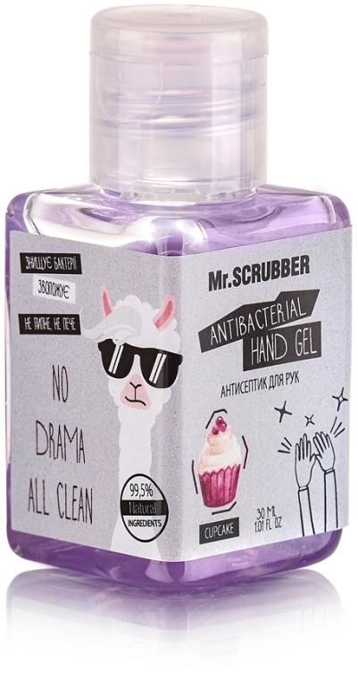 Антисептик для рук - Mr.Scrubber Antibacterial Hand Gel Cupcake