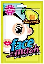 Духи, Парфюмерия, косметика Маска для лица с экстрактом авокадо - Bling Pop Avocado Nourishing & Brightening Mask
