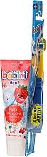 Духи, Парфюмерия, косметика Набор для детей 1-6 лет - Bobini (toothbrush + toothpaste/75ml)