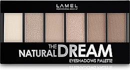 Духи, Парфюмерия, косметика Тени для век - Lamel Professional The Natural Dream Eyeshadow Pallette