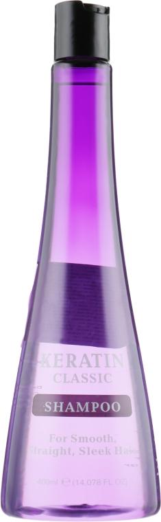 Кератиновый шампунь для выравнивания волос - Xpel Marketing Ltd Keratin Classic Shampoo