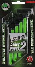 Духи, Парфюмерия, косметика Одноразовый станок для бритья - Derby Pro 2