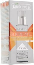 Парфумерія, косметика Нічна омолоджувальна сироватка для обличчя - Bielenda Neuro Glicol + Vit.C