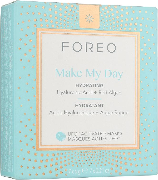 Увлажняющая и защищающая от загрязнений маска для лица Make My Day для UFO/UFO mini - Foreo Make My Day UFO/UFO mini Anti-Pollution & Hydrating Mask