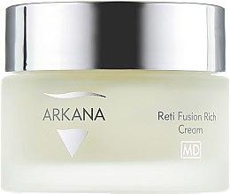 Питательный крем с ретинолом и феруловой кислотой - Arkana Reti Fusion Rich Cream — фото N2