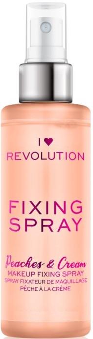 Спрей фиксирующий макияж - I Heart Revolution Fixing Spray Peaches & Cream