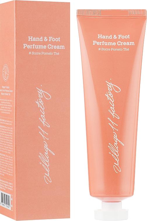 """Парфюмированный крем для рук и ног """"Помело"""" - Village 11 Factory Perfume Hand & Foot Cream Sucre Pomelo"""