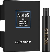 Духи, Парфюмерия, косметика Robert Piguet Notes - Парфюмированная вода (пробник)