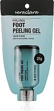 Духи, Парфюмерия, косметика Пилинг-гель для ног с гиалуроновой кислотой - Veraclara Hyaluron Foot Peeling Gel