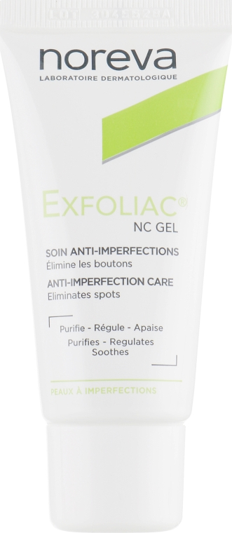 Гель-NC для локального застосування - Noreva Laboratoires Exfoliac Gel-NC  — фото N5