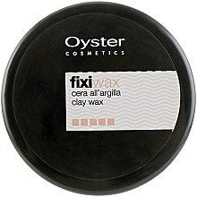 Духи, Парфюмерия, косметика Матовая глина-воск сильной фиксации - Oyster Cosmetics Fixi Clay Wax
