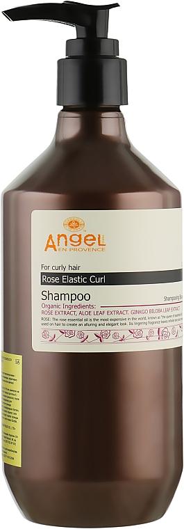 Шампунь для вьющихся волос с экстрактом розы - Angel Professional Paris Provence For Curly Hair Shampoo